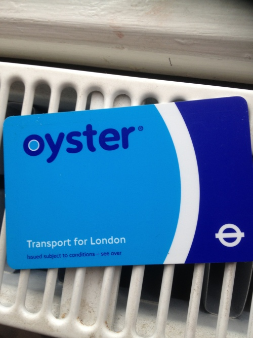 Oyster Card-by F Macha